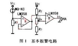 可燃性氣體泄漏報警器的設計原理解析