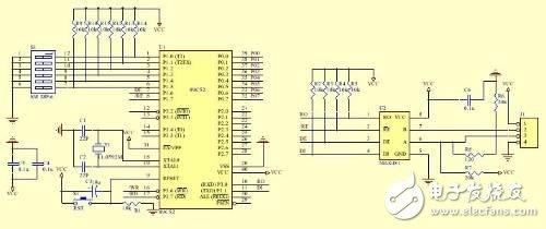 AT89C52单片机实现485总线现场监测系统的设计