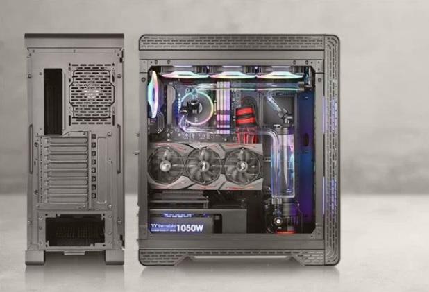 """曜越宣布""""S500""""强化玻璃、中直立式机箱设计已..."""