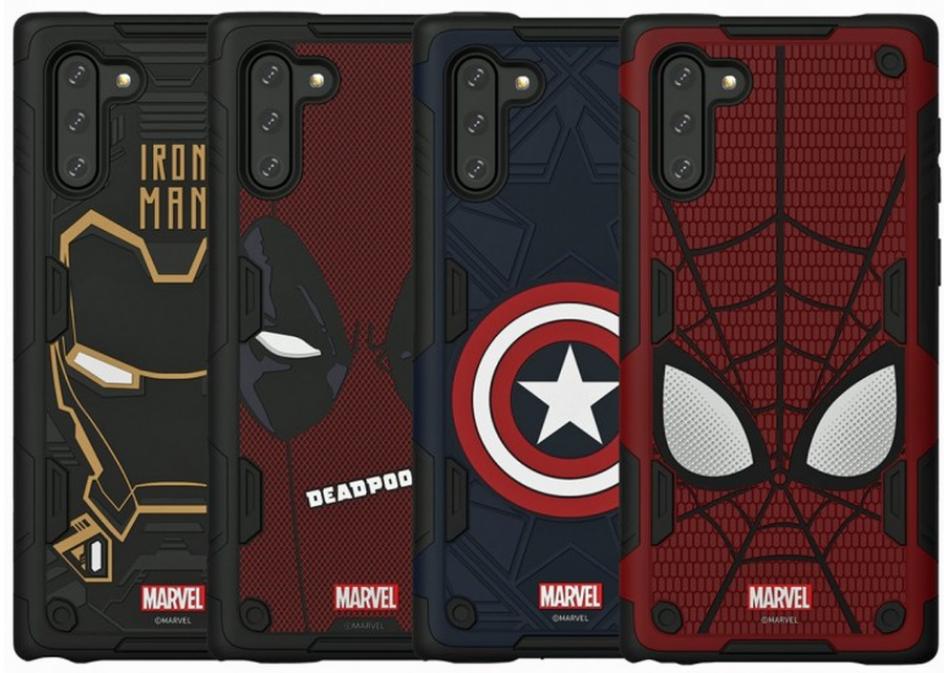 三星将推出Galaxy Note10系列的四款漫威超级英雄保护壳