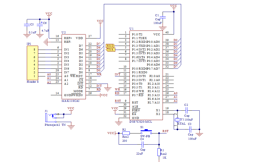 如何使用Protel DXP进行单片机最小系统原理电路的设计