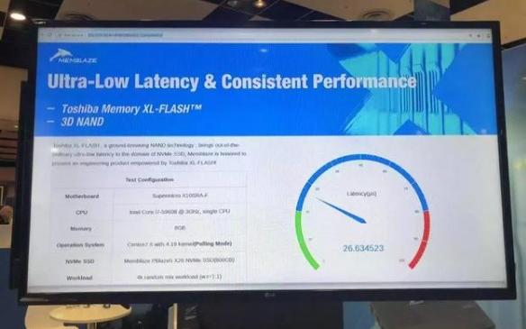 Memblaze基于东芝FLASH的NVMe SSD方案