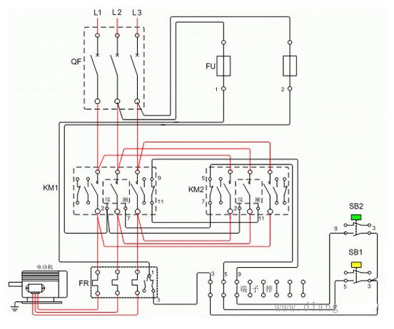 互锁电路图及工作原理