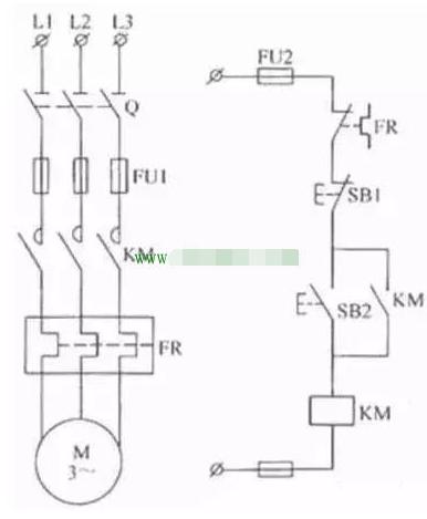 电气互锁控制电路图