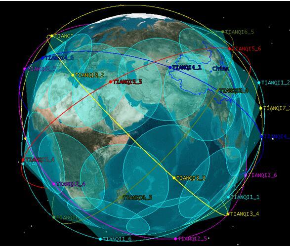 國內首個天啟物聯網星座實現初步組網運行