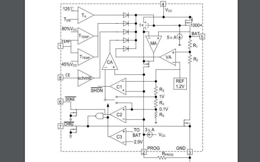 FP4056G线性锂电池充电器芯片的数据手册免费下载