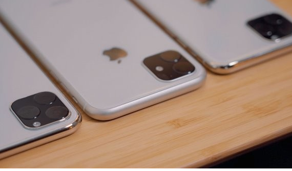 iPhone 11机模照片曝光采用了A13处理器...