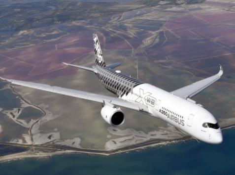 空中客车新一代A350XWB宽体飞机的绿色环保设计理念阐述