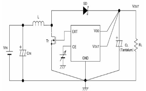 CMOS升压DCDC控制器GS3661的数据手册免费下载
