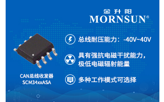 5V电源供电、高速CAN总线收发器——SCM34...