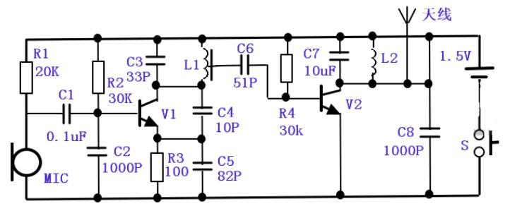 无线话筒的电路原理与用途介绍