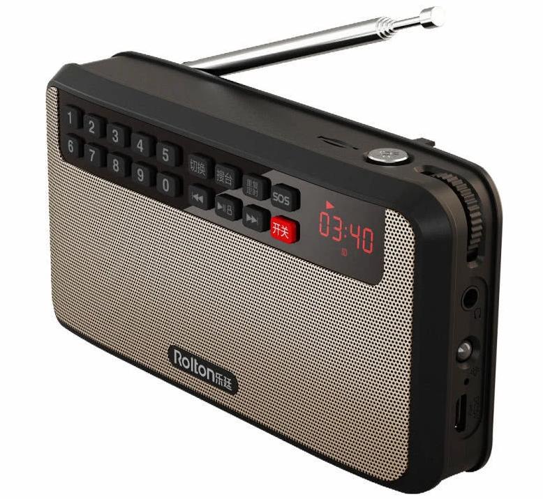 可插卡收音机,简约设计,细心品味 功能还多 贼高级
