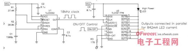 如何使用555定时器实现LED驱动器的控制