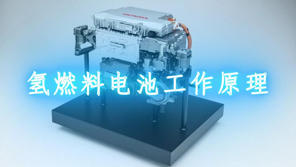 氫燃料電池工作原理