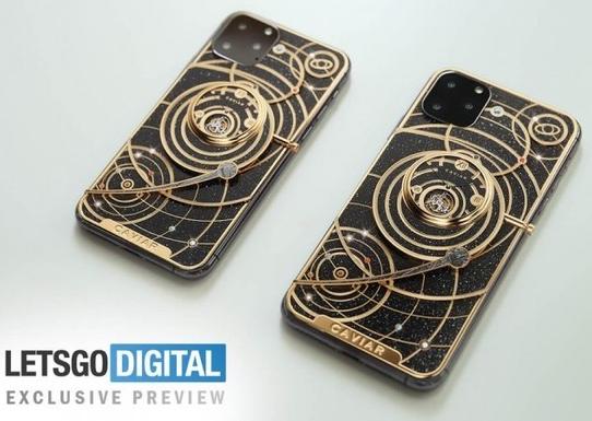 苹果iPhone 11太空定制版即将推出背面展示了完整的太阳系