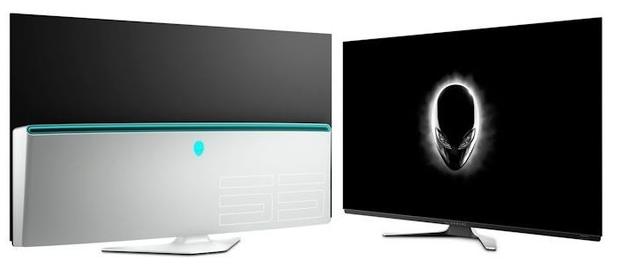 戴尔发布了全新的旗舰级显示器Alienware 55刷新率为120Hz