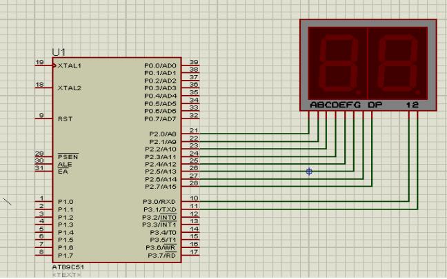 使用單片機的定時器設計60S秒表的實驗資料電路圖和程序免費下載