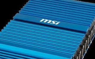 微星将展示全新的MS-9A89嵌入式电脑