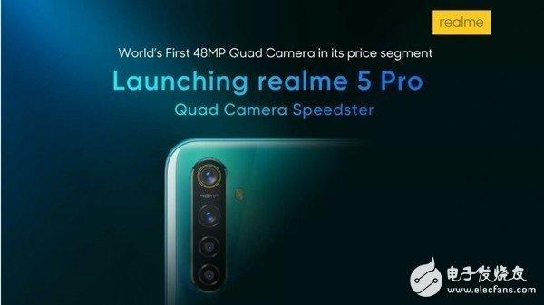 realme 5系列手机曝光配备了4800万像素的后置四摄像头共有两款机型
