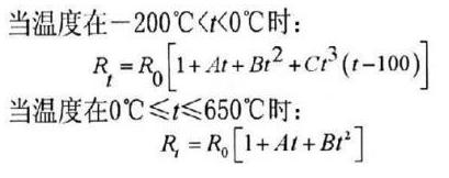 鉑熱風速傳感器的數學模型以及電路原理解析