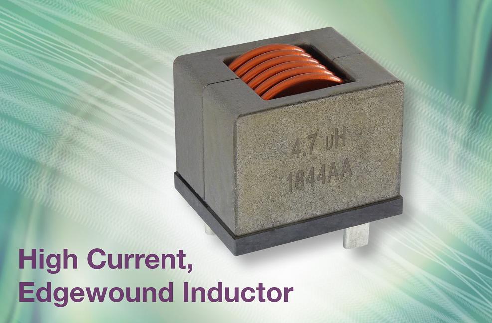 Vishay推新型IHDM边绕通孔电感器 功耗低,散热性能优异