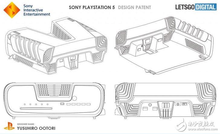 索尼PlayStation 5设备外观专利曝光