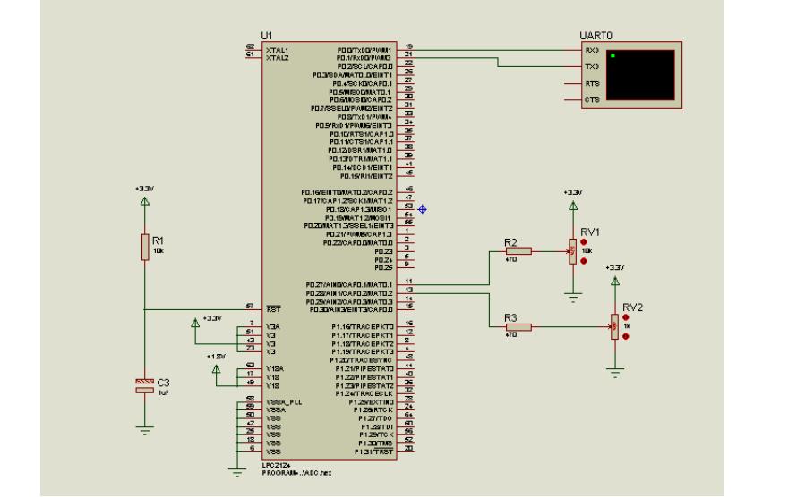 实现LPC单片机双通道AD转换的功能的详细资料说明