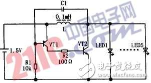 LED手电驱动电路原理图