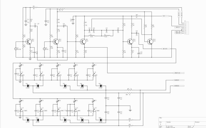 中频扫频仪MSW721E电路原理图合集免费下载