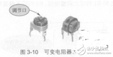 可变电阻器内部结构_可变电阻器引脚识别方法