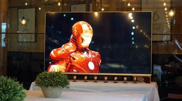 下个月即将发售的乐视电视超5 X55钢铁侠限量纪念版