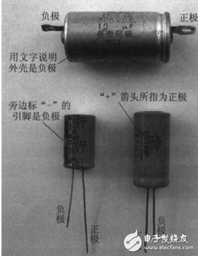电容器标识方法