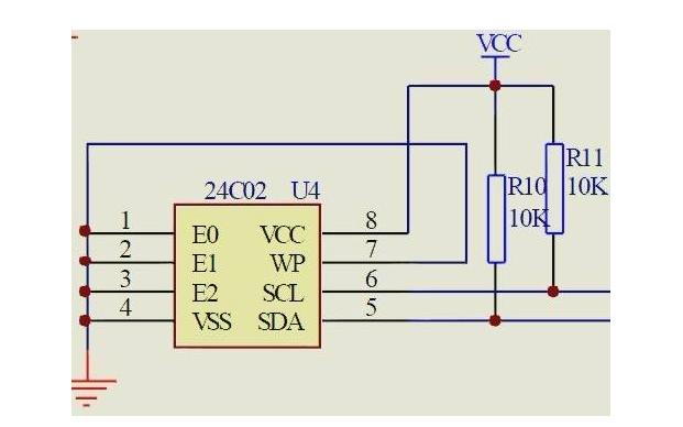 使用EEPROM存储器24C02记忆开机次数的代码免费下载