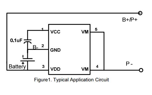 SDW18B电池保护芯片的数据手册免费下载