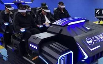 线下VR体验馆中的9D动感体验设备