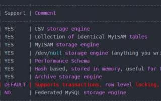 关于mysql存储引擎你知道多少