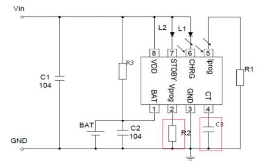 HX6610S锂离子电池充电器芯片的数据手册免费下载