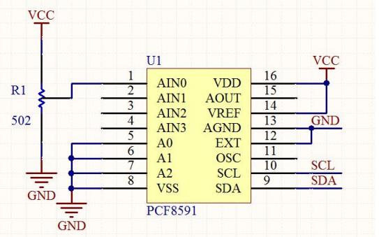51单片机应用PCF8591进行AD转换的详细资料和程序免费下载