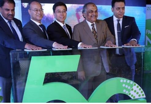 辛姆巴科已成為巴基斯坦第一家成功完成5G試驗的電...