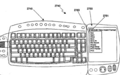 微软的新专利将在键盘上使用压感触控屏