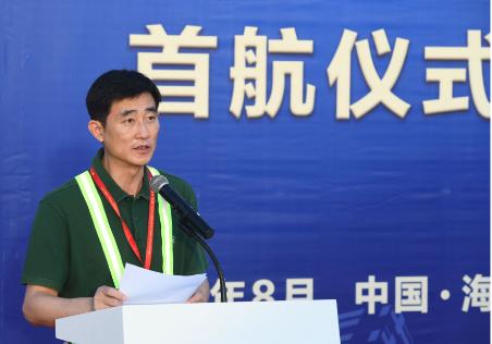 海南航空新華社民族品牌工程號飛機已成功完成首航飛行