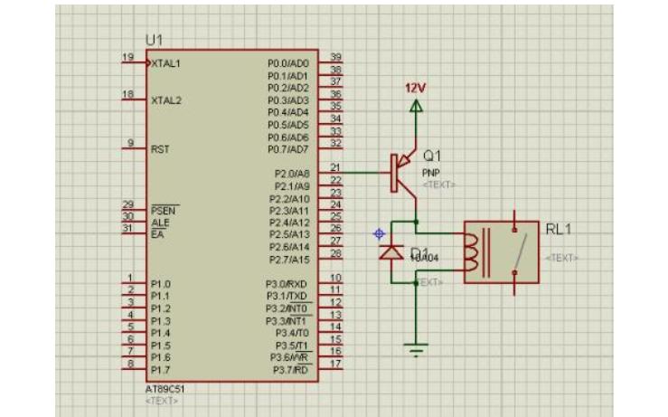 51单片机红外遥控继电器电路部分的设计资料详细说明
