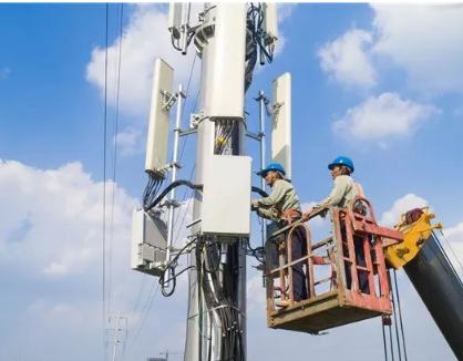 南京联通公司成功开通了首个小营5G基站