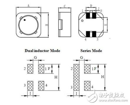 贴片共模电感选型_贴片共模电感封装