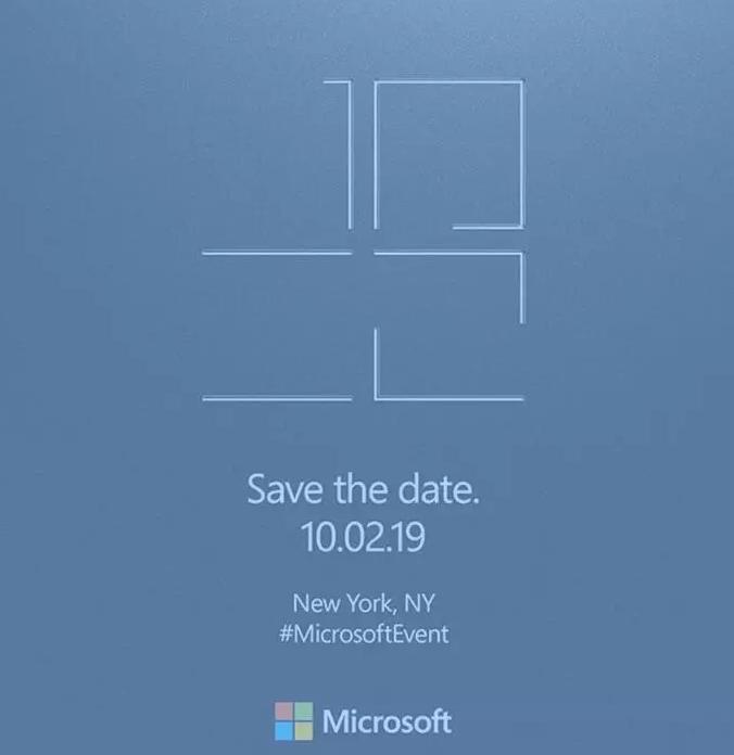 微软将于10月举行一次特殊发布会 双屏Surfa...