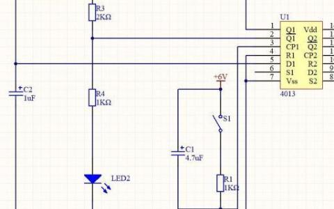 关于模拟电?#20998;?#30340;按钮自锁开关