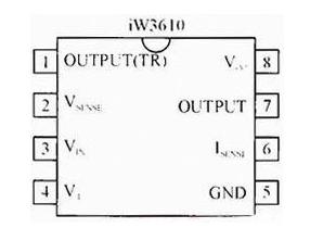 基于iW3610芯片的可调光LED驱动电源设计