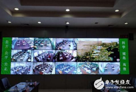 视频监控全方位监视考场 确保考试的安全、公正