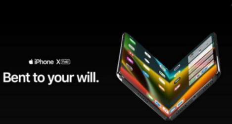 折叠手机iPhone X Fold得到了曝光,A...
