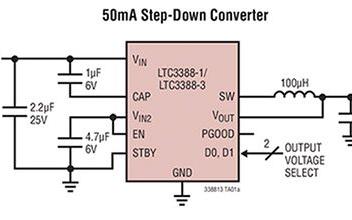 基于LTC3388-1的低功率能量收集电路设计